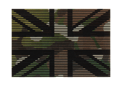 Dual IR Patch Great Britain Multicam